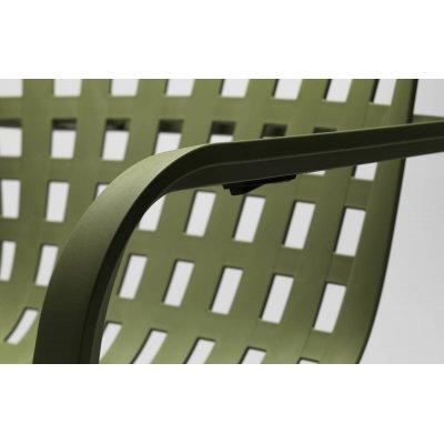 particolare regolazione inclinazione schienale per poltrona Folio colore agave