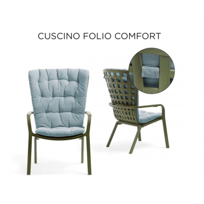 cuscino Folio Confort, tessuto Artic