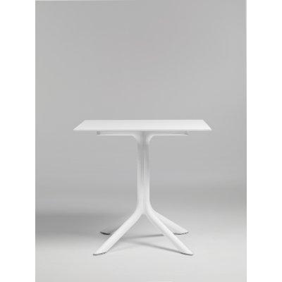 base Clip colore bianco con piano laminato colore bianco n. 301