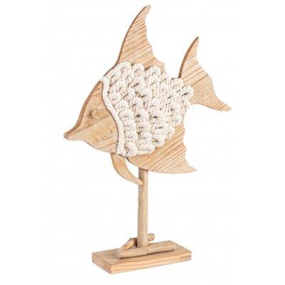 decorazione Pesce Cotton Stand