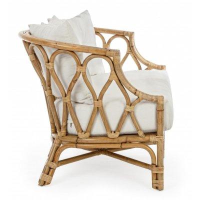 divano 2 posti modello Canaria con cuscini