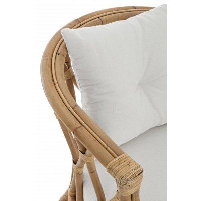 particolare divano 2 posti modello Canaria con cuscini