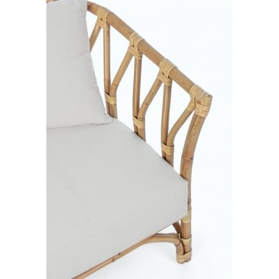 particolare divano Galdera 2 posti  con cuscini