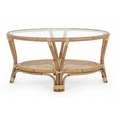 tavolino in giunco naturale Galdera