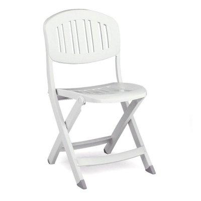 sedia Capri colore bianco