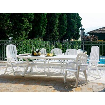 tavolo Toscana 250 colore bianco