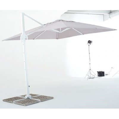 ombrellone Senso 3 x 3 bianco
