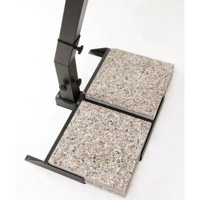 set piastre in cemento e graniglia da cm 50 x 50