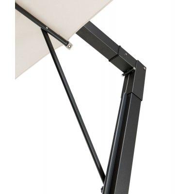 particolare stecca ferma vento per ombrellone a braccio in alluminio modello Leonardo