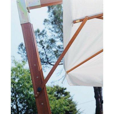 particolare stecca ferma vento su ombrellone Palladio Braccio
