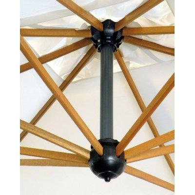 particolare stecche in legno di iroko