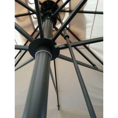 particolare ombrellone Capri Dark,