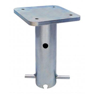 Supporto da interrare codice BTC per ombrelloni a palo centrale prodotti da Scolaro Parasol