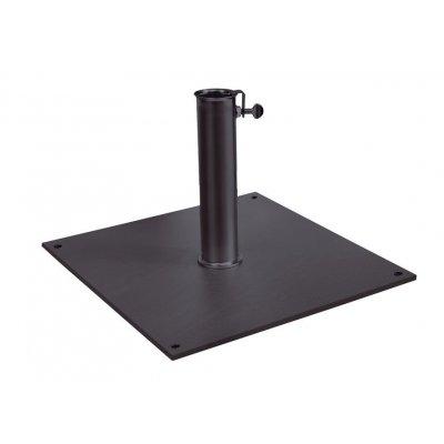 base in acciaio colore antracite codice BF6565D - dim 65 x 65 x 1,5 peso kg 35