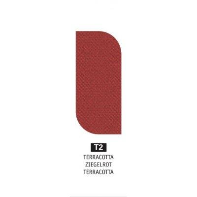 tessuto acrilico Terracotta T2 - peso 350 grammi al metro quadrato
