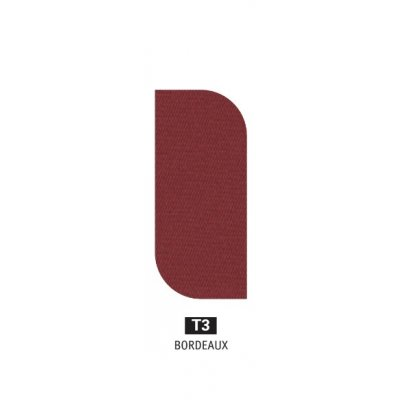 tessuto acrilico Bordeaux T3 - peso 350 grammi al metro quadrato