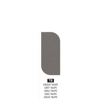 tessuto acrilico Grigio Taupe T6 - peso 350 grammi al metro quadrato