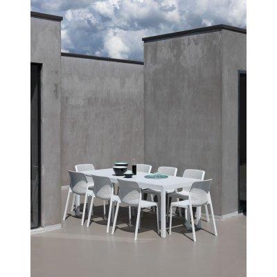 tavolo rio 140 bianco con poltrone Bit