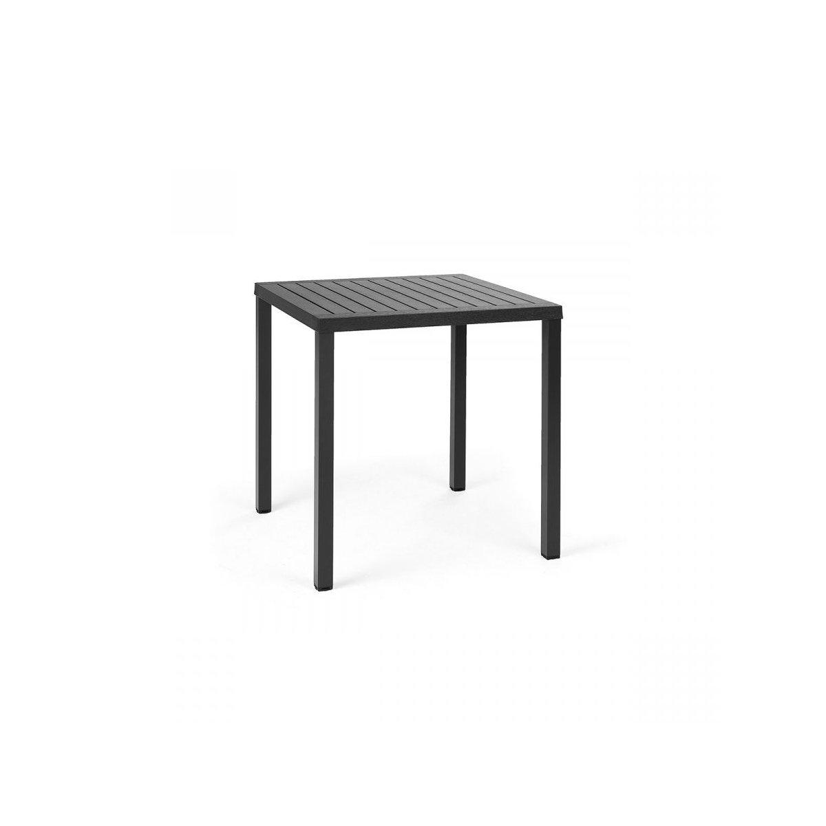 tavolo Cube 70 antracite