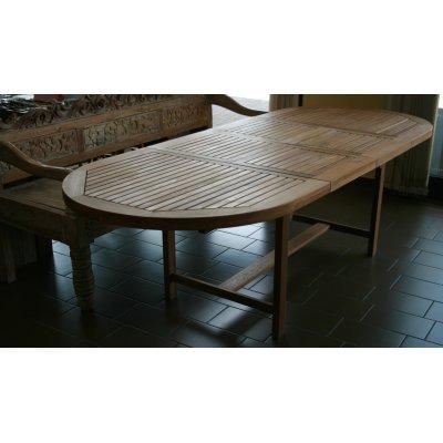 tavolo tek ovale