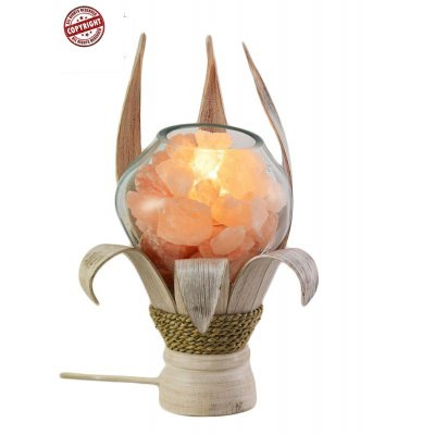 lampada di sale Unica Ninfea