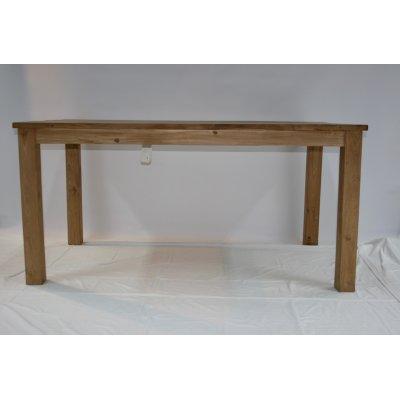 tavolo in tek riciclato modello Yudi (M)