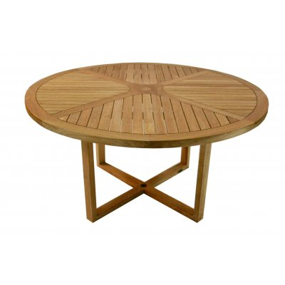 tavolo in tek modello Aero