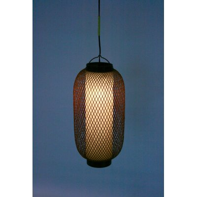 lampadario modello Pechino in bambù