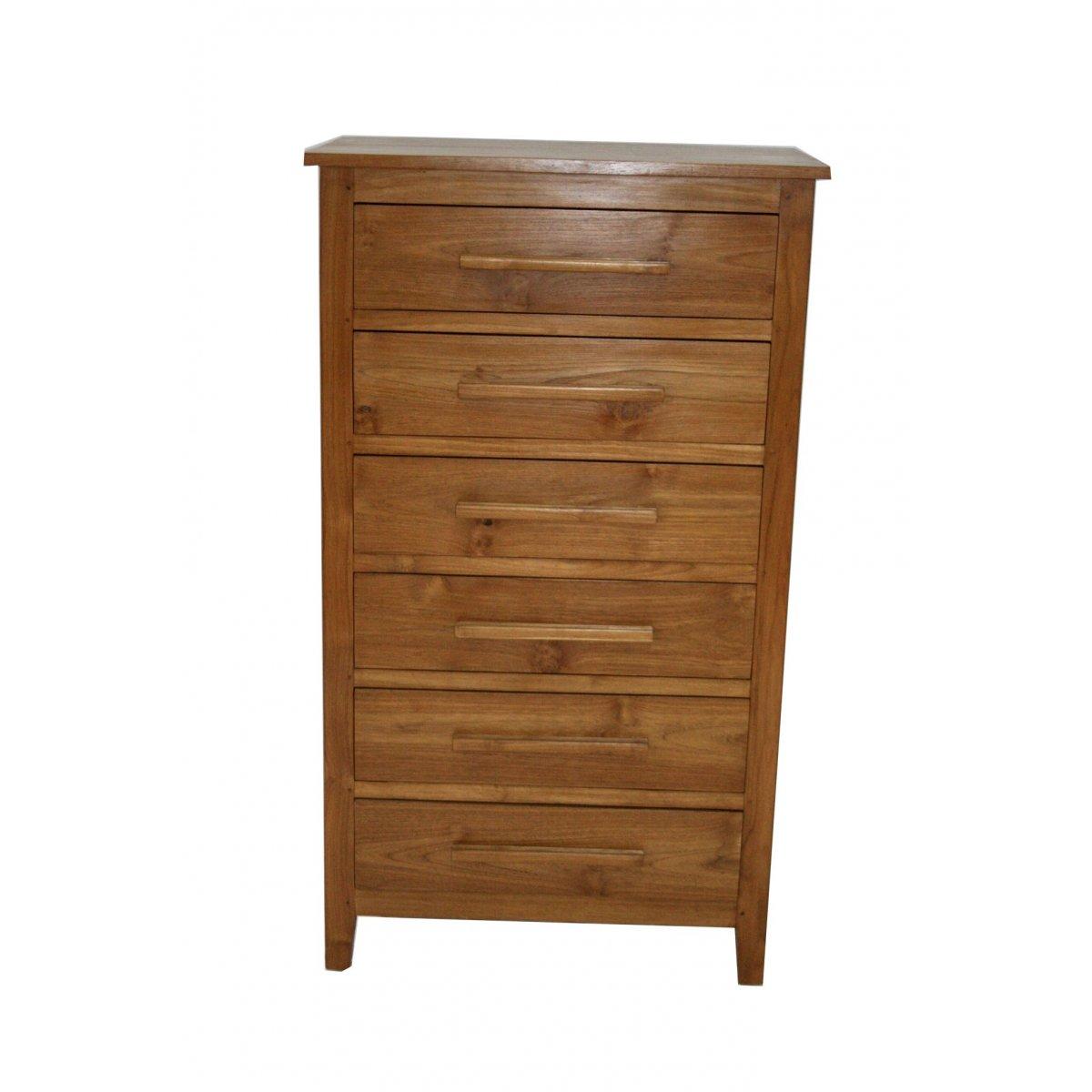 cassettiera modello Amalfi in legno di tek