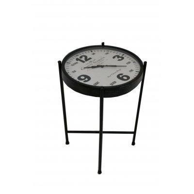 tavolino con orologio Clement
