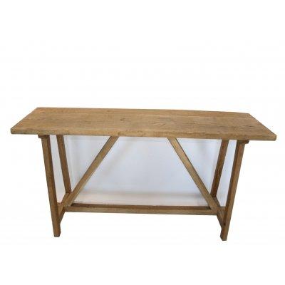 consolle in legno di rovere modello Lara