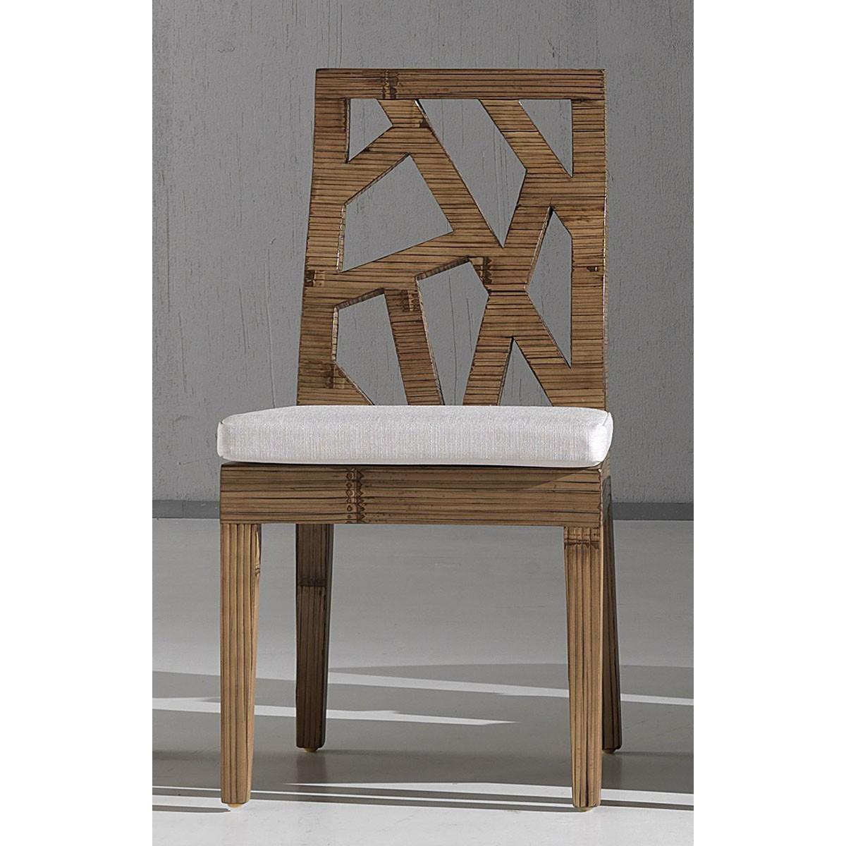 sedia Light colore miele antico