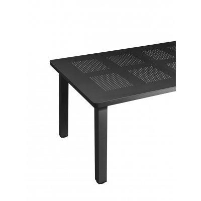 particolare tavolo Levante antracite