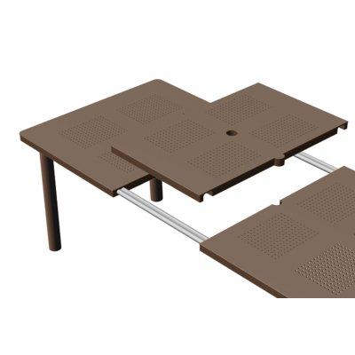 tavolo Libeccio - sistema di prolunga