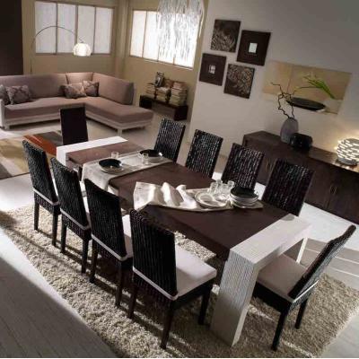 composizione con sedia Valencia e tavolo Stone