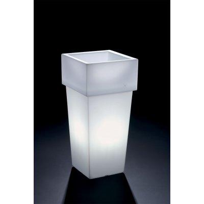cache-pot Gemini con luce