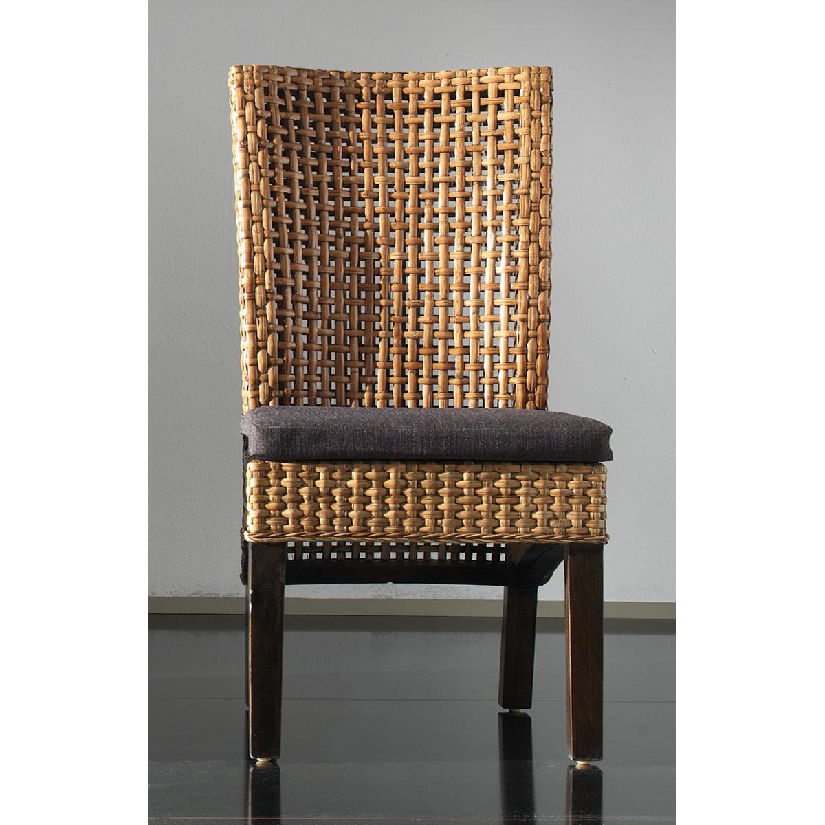 sedia Cemara miele antico