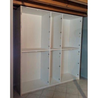 interno armadio Alum 5 + 5 ante battenti