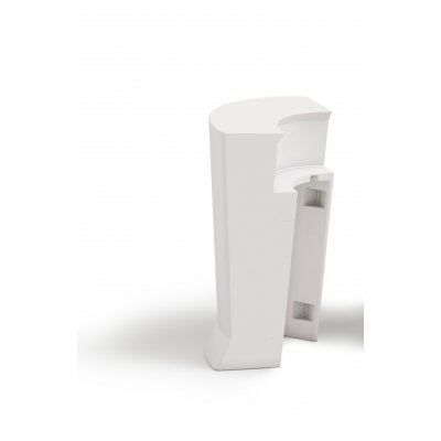 Bancone Marvy bianco (BCO) elemento angolare