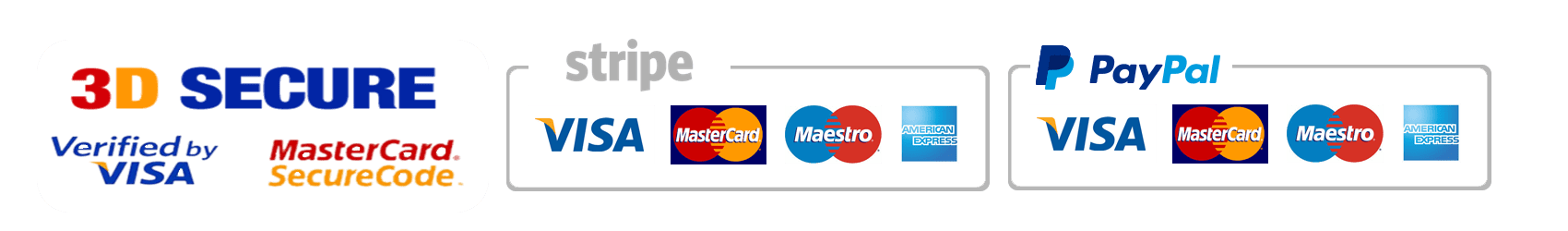 secure payments stripe paypal
